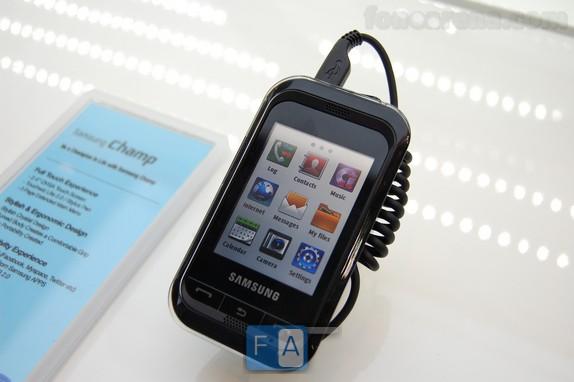 Samsung Champ Live Pics