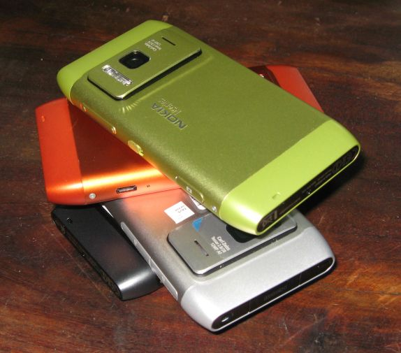 These are the N8 colors which would be available in India (atleast at ...