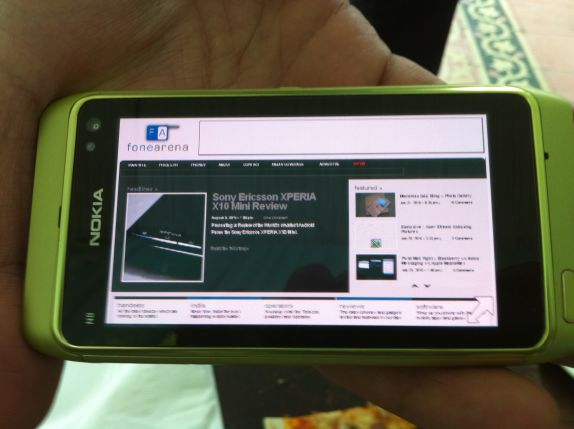 Nokia N8 in India – Photo Gallery