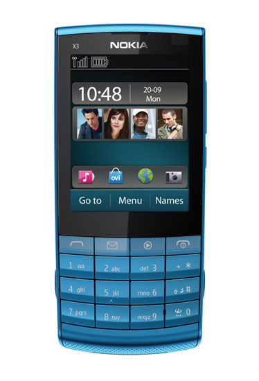 Petrol Blue, Pink, Lilac. Do you like the X3-02 ? nokia x3 touch