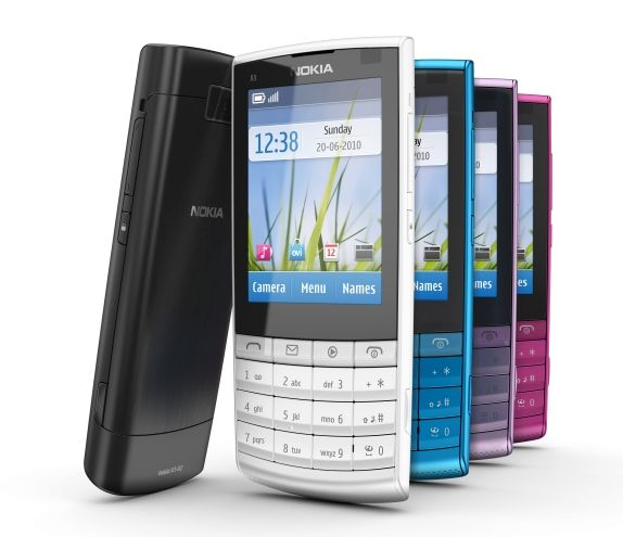 Latest Mobile Update: The New Nokia X3 Touch